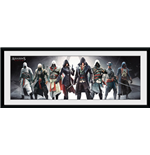 Assassin's Creed - Characters (Stampa In Cornice 30x75cm)