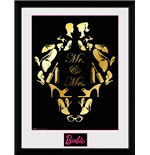 Barbie - Mr And Mrs (Stampa In Cornice 30x40cm)