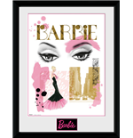 Barbie - Eyes (Stampa In Cornice 30x40cm)