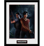 Uncharted The Lost Legacy - Cover (Stampa In Cornice 30x40cm)