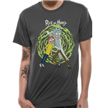 T-shirt Rick and Morty - Spiral