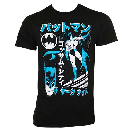 T-shirt Batman Kanji Japanese