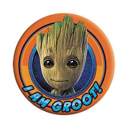 Spilla Guardians of the Galaxy Groot Orange