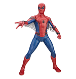 Statuetta Spider-Man Homecoming Titan Hero Tech Suit Spider-Man 38 cm - Versione Tedesca