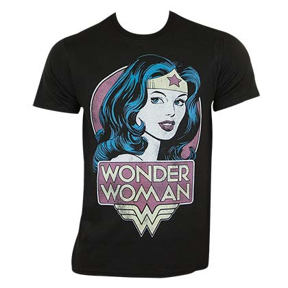 T-shirt Wonder Woman Vintage