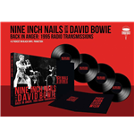 Vinile Nine Inch Nails With David Bowie - Back In Anger - The 1995 Radio Transmissions - St Louis, Mo 1995 (4 Lp)