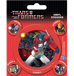 Transformers G1 - Optimus Prime (Set Adesivi 12,5X10 Cm)