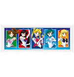 Sailor Moon - Characters (White) (Stampa In Cornice)