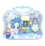 Frozen - Small Doll Mini Playset Valigetta (Assortimento Anna / Elsa)