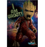 Guardians Of The Galaxy Vol. 2 - Angry Groot (Poster Maxi 61X91,5 Cm)
