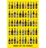 Beers Of The World 2 (Poster Maxi 61x91,5 Cm)