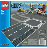 Lego 7280 - City - Rettilineo E Incrocio