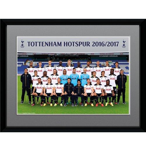 Tottenham hotspur team photo 16 17 stampa in cornice for Cornici 15x20