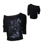 Alchemy - Aea Top Meowstophelex - Solid Black (top Donna )