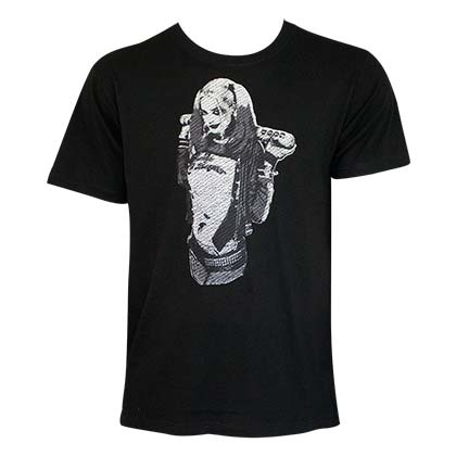 T-shirt Harley Quinn Embroidered