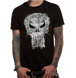 Punisher - Shatter Skull (T-SHIRT Unisex )