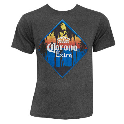 T-shirt Corona Embroidered