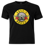 T-shirt Guns N' Roses Circle Logo with Foiled Application
