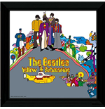 Beatles (The) - Yellow Submarine 2 (Stampa In Cornice 30x30 Cm)