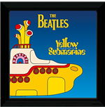 Beatles (The) - Yellow Submarine 1 (Stampa In Cornice 30x30 Cm)