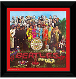Beatles (The) - Sgt Pepper (Stampa In Cornice 30x30 Cm)