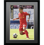 Liverpool - Coutinho 16/17 (Stampa In Cornice 15x20 Cm)