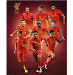 Liverpool - Players 16/17 (Poster Mini 40x50 Cm)