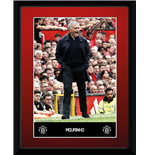 Manchester United - Mourinho 16/17 (Stampa In Cornice 15x20 Cm)