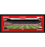 Manchester United - Match Day (Stampa In Cornice 76x30 Cm)