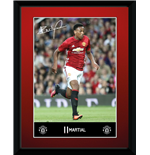 Manchester United - Martial 16/17 (Stampa In Cornice 15x20 Cm)