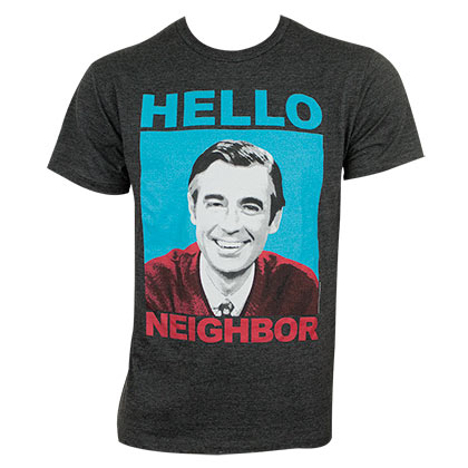 T-shirt Mister Rogers' Neighborhood da uomo