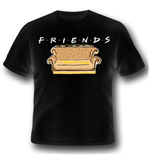 Friends - Logo And Sofa (T-SHIRT Unisex )