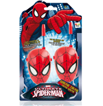 Ultimate Spider-Man - 2 Walkie Talkie A Forma Di Maschera