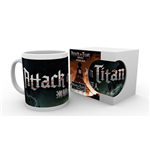 Attack On Titan Season 2 - Logo (Tazza)