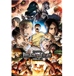 Attack On Titan Season 2 - Collage Key Art (Poster Maxi 61x91,5cm)