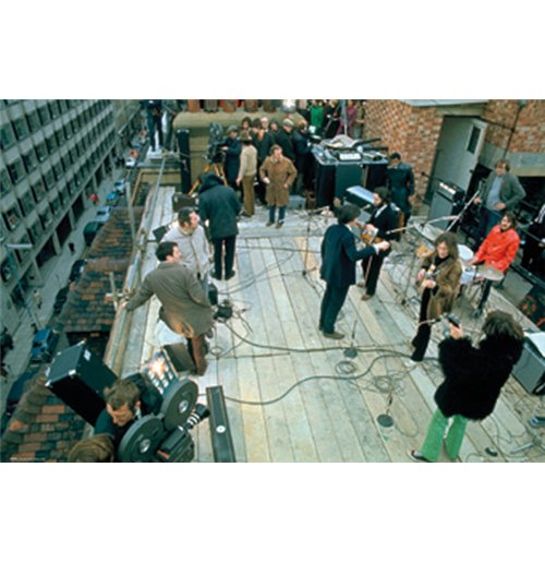 Beatles (The) - Rooftop (Poster Maxi 61x91,50cm)