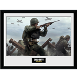 Call Of Duty Wwii - Shooter (Stampa In Cornice 30x40 Cm)