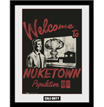 Call Of Duty - Welcome To Nuketown (Stampa In Cornice 30x40 Cm)