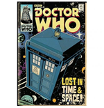 Doctor Who - Tardis Comic (Poster Maxi 61x91,5 Cm)