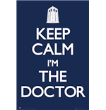 Doctor Who - Keep Calm (Poster Maxi 61x91,5 Cm)