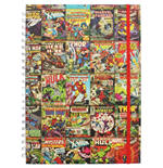 Marvel Retro (Aligned A4 Notebook) (Quaderno)
