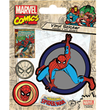 Marvel Comics - Spider-Man Retro (Set Adesivi 12,5X10 Cm)
