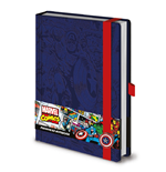 Marvel Cap Premium A5 Notebook