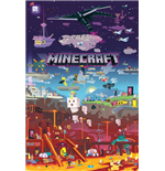 Minecraft - World Beyond (Poster Maxi 61x91,50cm)