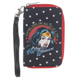 Wonder Woman - Face Small Zip Wallet (Portafogli)