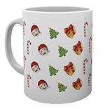 Emoji - Pattern Christmas (Tazza)