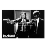 Pulp Fiction - Guns (Poster)