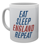 England - Eat Sleep England Repeat (Tazza)