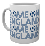 England - Come On England (Tazza)