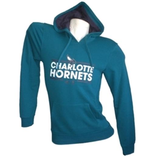 5d331bbf1e4a60 Acquista Charlotte Hornets Felpa Cappuccio Garzata Originale